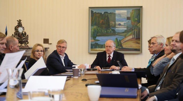 FOTOD | Väliskomisjon asub otsustama Reitelmanni kandidatuuri sobivuse üle ENPA kohale