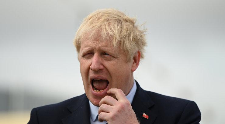 Johnson eitas kuningannale valetamist parlamendi töö peatamise kohta