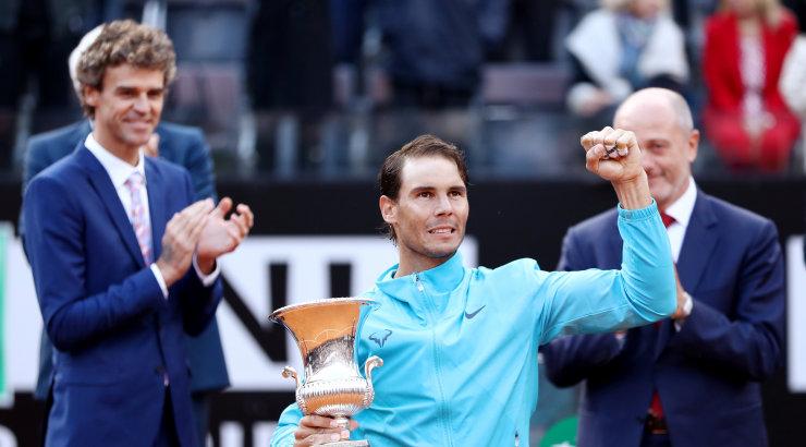 VIDEO | Ajalugu teinud Nadal võidutses Roomas Djokovici ees
