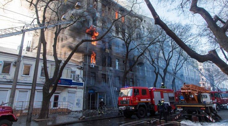 В Тульской области во время пожара погибли пять человек