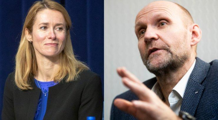 Isamaa kutsub Kaja Kallast andma riigikogule ülevaadet Covid-19 vastasest võitlusest
