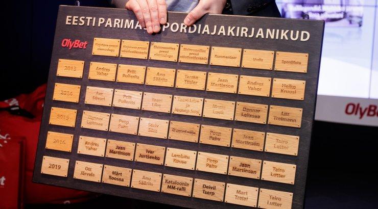 Selgusid Eesti spordiajakirjanduse 2020. aasta parimate tööde nominendid, Delfil ja Eesti Päevalehel juba kaks esikohta kindlad