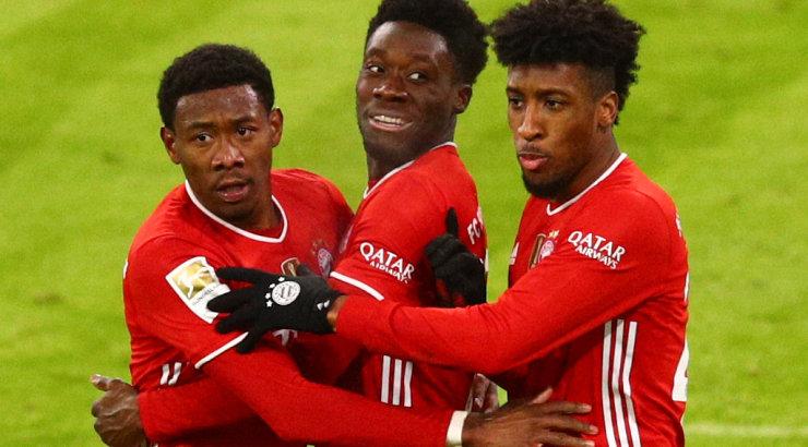 Müncheni Bayern pääses autsaideri vastu hädise viigiga