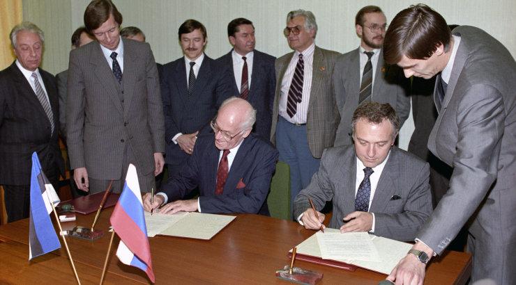 Venemaa endine välisminister Kozõrev: Stalin sundis Balti riike liituma, et mitte öelda okupeeris nad