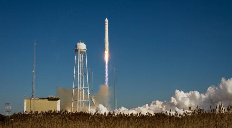 USA erafirma veolaev asus teele rahvusvahelise kosmosejaama suunas: