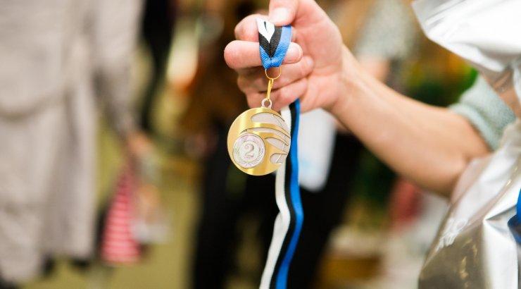 Eriolümpia sportlased saabuvad Euroopa mängudelt medalisajuga