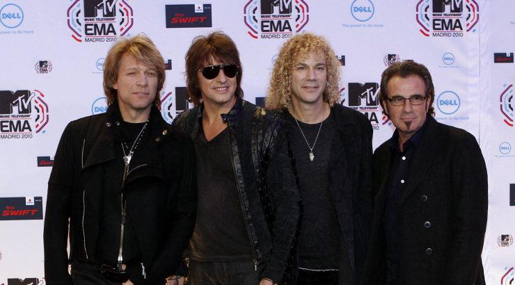 Kole nimi, bändi koosseis ja tegelik omanik: 10 fakti, mida sa Bon Jovist ilmselt veel ei tea