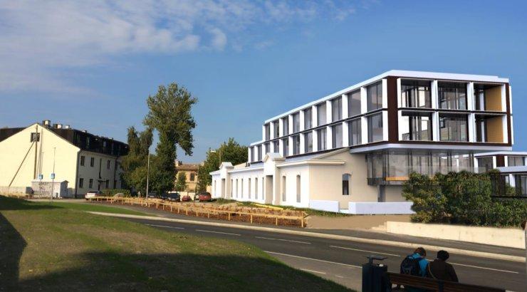 Patarei merekindluse kõrval asuv leivatehas ehitatakse ümber korterelamuks