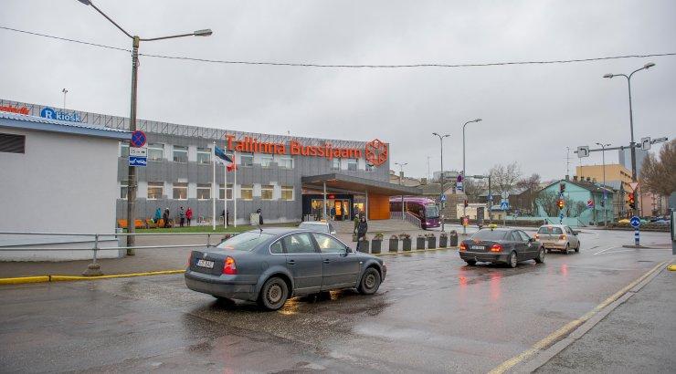 enamik Eesti kaugbussiliine on suletud, Tallinna bussijaama...