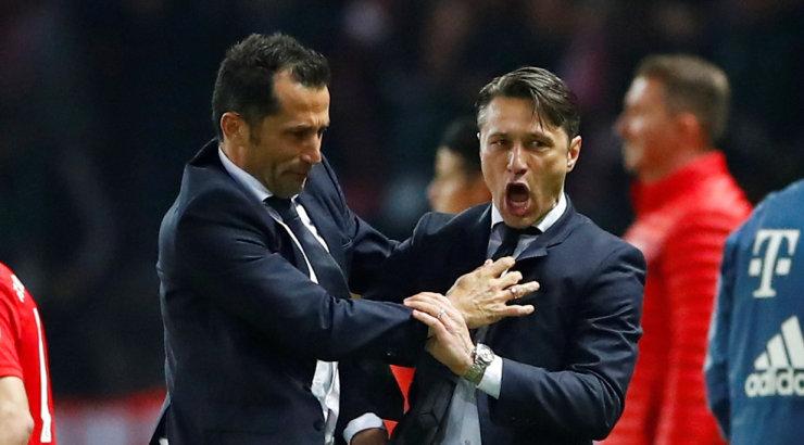 Müncheni Bayern krooniti Saksamaa karikavõitjaks, peatreener Kovac tegi ajalugu