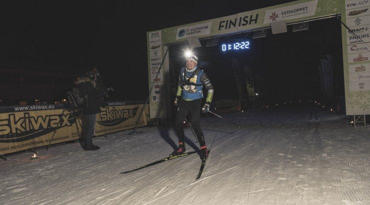 Suurepäraste lumeoludega Alutaguse suusamaraton stardib täna öömaratoniga