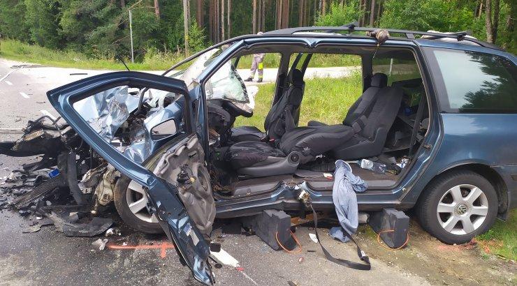 В Скопинском районе при опрокидывании Hyundai пострадали три человека