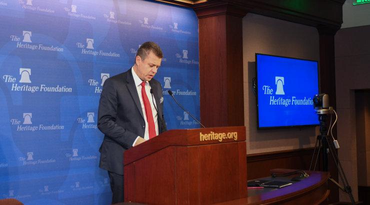 Välisminister Reinsalu: vaid Lääneriikide ühtsus suudab tagada meie õiguste kaitse