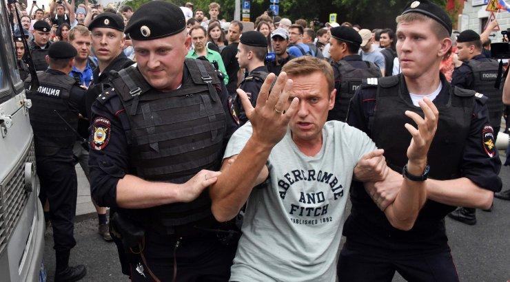 VIDEO   Moskva meeleavaldusel Golunovi toetuseks vahistati kümneid inimesi, sealhulgas Navalnõi