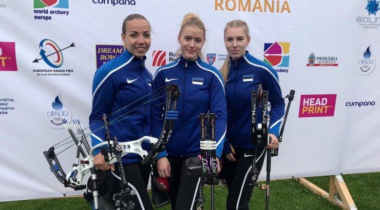 Eesti plokkvibu naiskonnale GP-etapilt kuldmedal