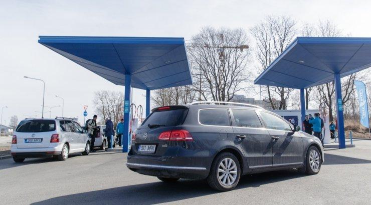 Eesti Gaas päästab bensiinijaamad kütuse solkimisest
