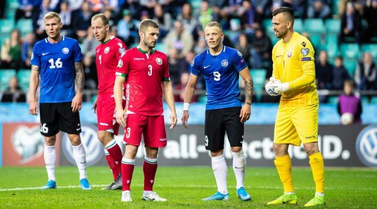 OTSEBLOGI | Eesti jalgpallikoondis asub võõrsil Valgevene vastu nullile jäämist vältima, algkoosseis selge
