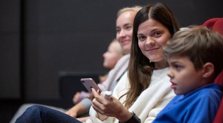 FOTOD | Eesti Rahvusringhääling avas uue lasteportaali, millega tulid tutvuma mitmed staarid oma lastega