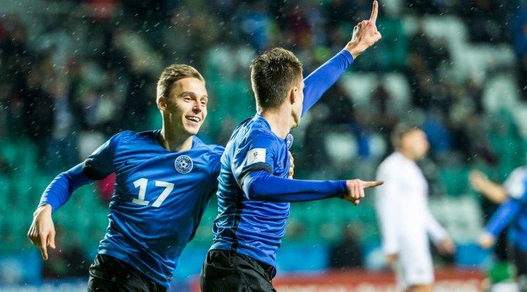 02b804ad7d2 FOTOD: 18-aastane Käit lõi teises koondisemängus kaks väravat! Eesti 4,  Gibraltar 0 - Sport