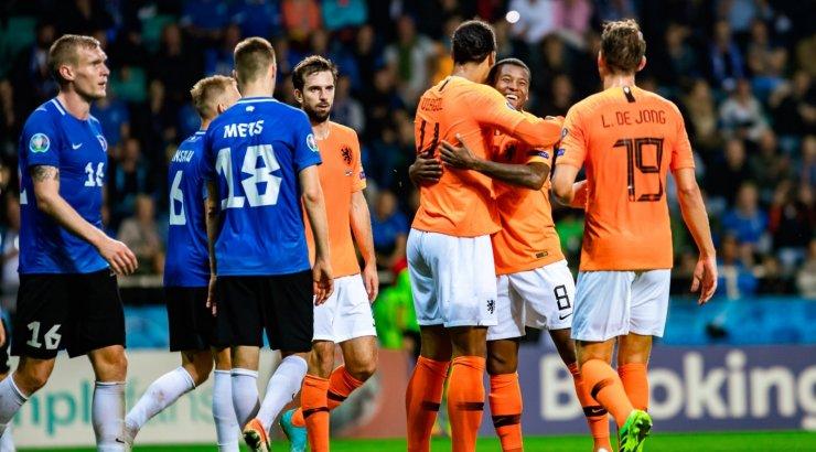 Футболисты Германии, Нидерландов, Хорватии и Австрии пробились на Евро-2020