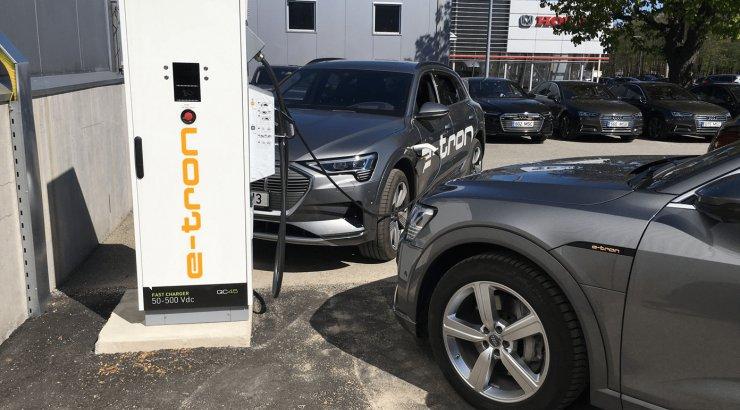 INTERVJUU | Ettevõtetele võimalus paigaldada tasuta elektriautode laadija