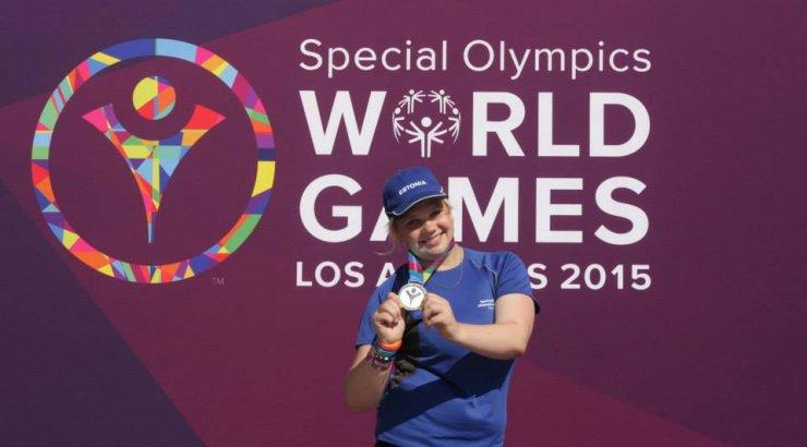 Eesti Eriolümpia delegatsioon saabub Los Angelese maailmamängudelt 14 medaliga!