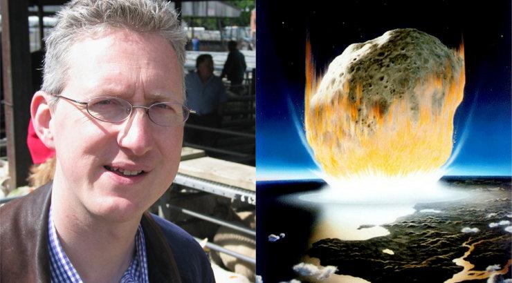 Eesti päritolu endine Ühendkuningriigi skandaalne parlamendisaadik: Maad tabab kindlasti elu hävitav asteroid!