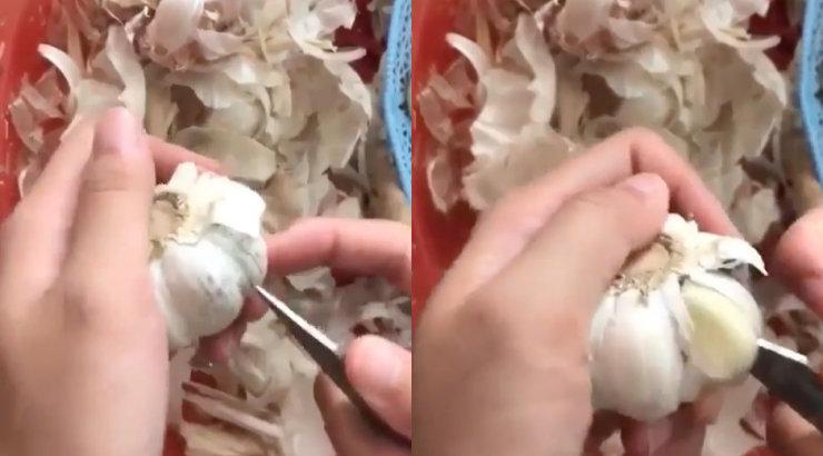 VIDEO | Elumuutev häkk: nii saad küüslauguküüned sekunditega koore seest puhtalt kätte
