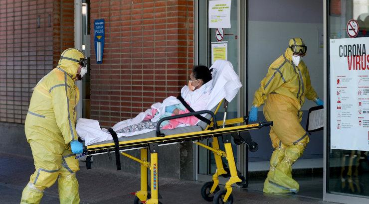 Hispaanias tõusis koroonaviirusesse surnute arv üle 4000