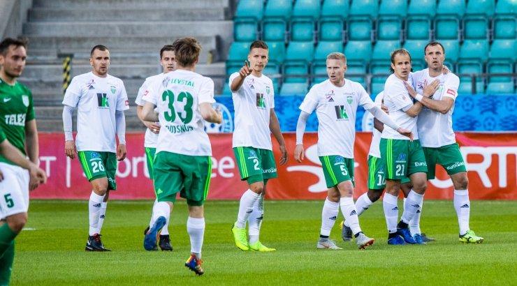 Levadia kaotas võõrsil islandlastele, kuid löödud värav annab kordusmänguks head võimalused