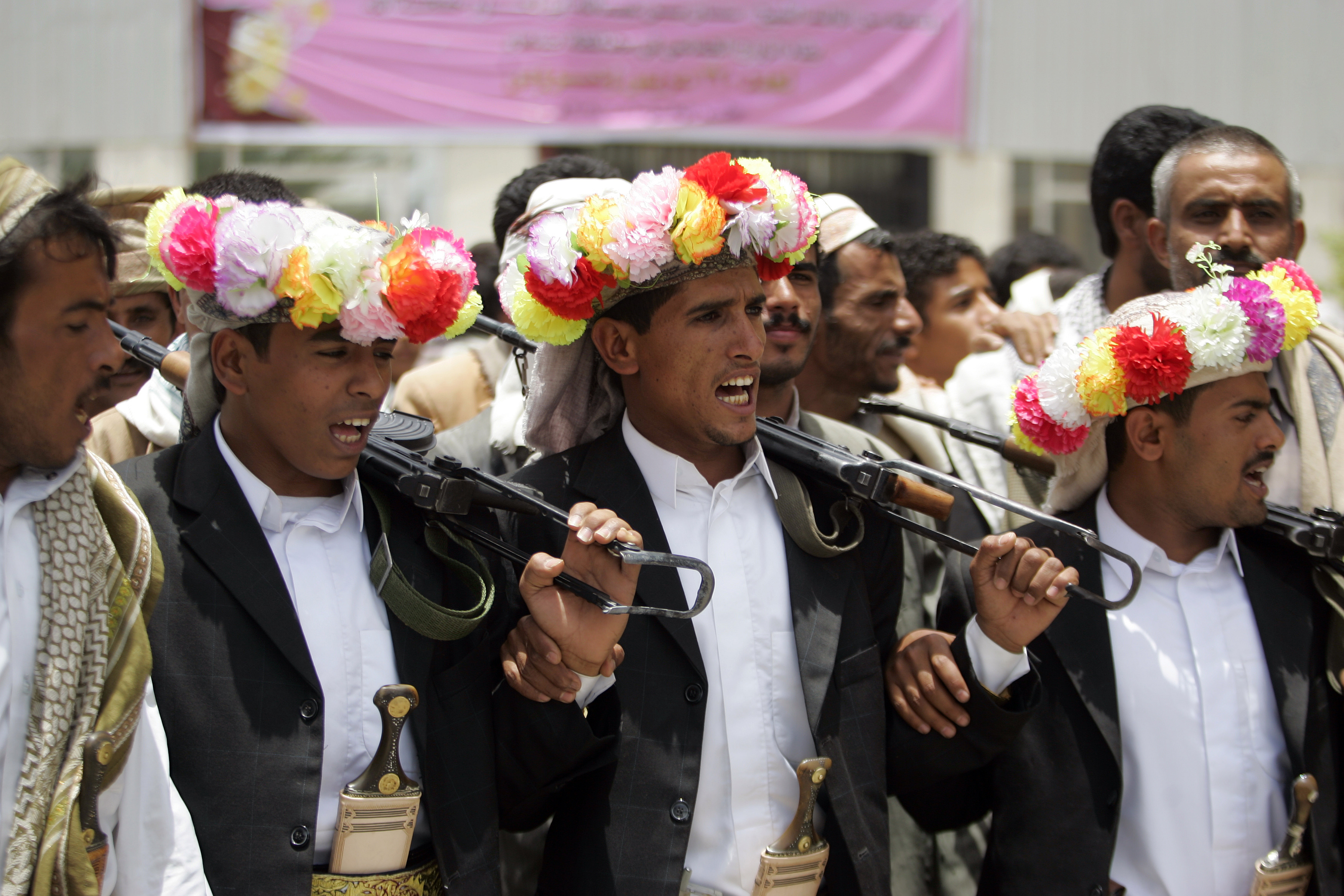 его свадьба в йемене фото крайней нужды