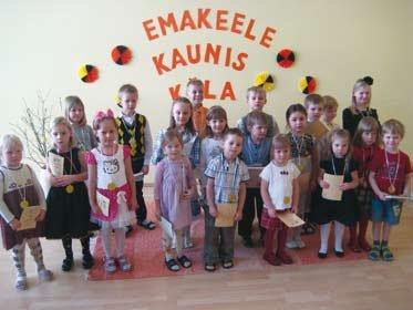Luuletuste lugemise konkurss aitab mudilastel arendada esinemisoskust ja huvi eesti luule vastu
