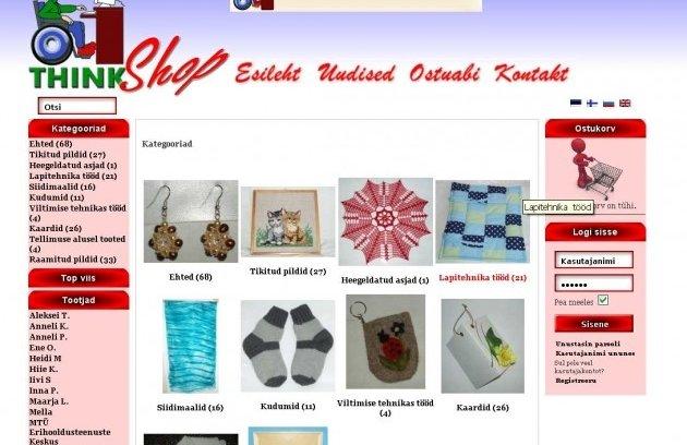 92120f4924a Puuetega inimesed lõid oma kvaliteetse käsitöö e-poe - Maaleht