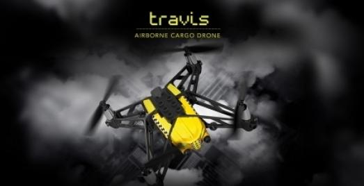 Parrot Airborne Cargo Travis droon