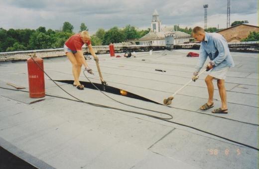 Lamekatuse renoveerimine eelmise sajandi lõpul