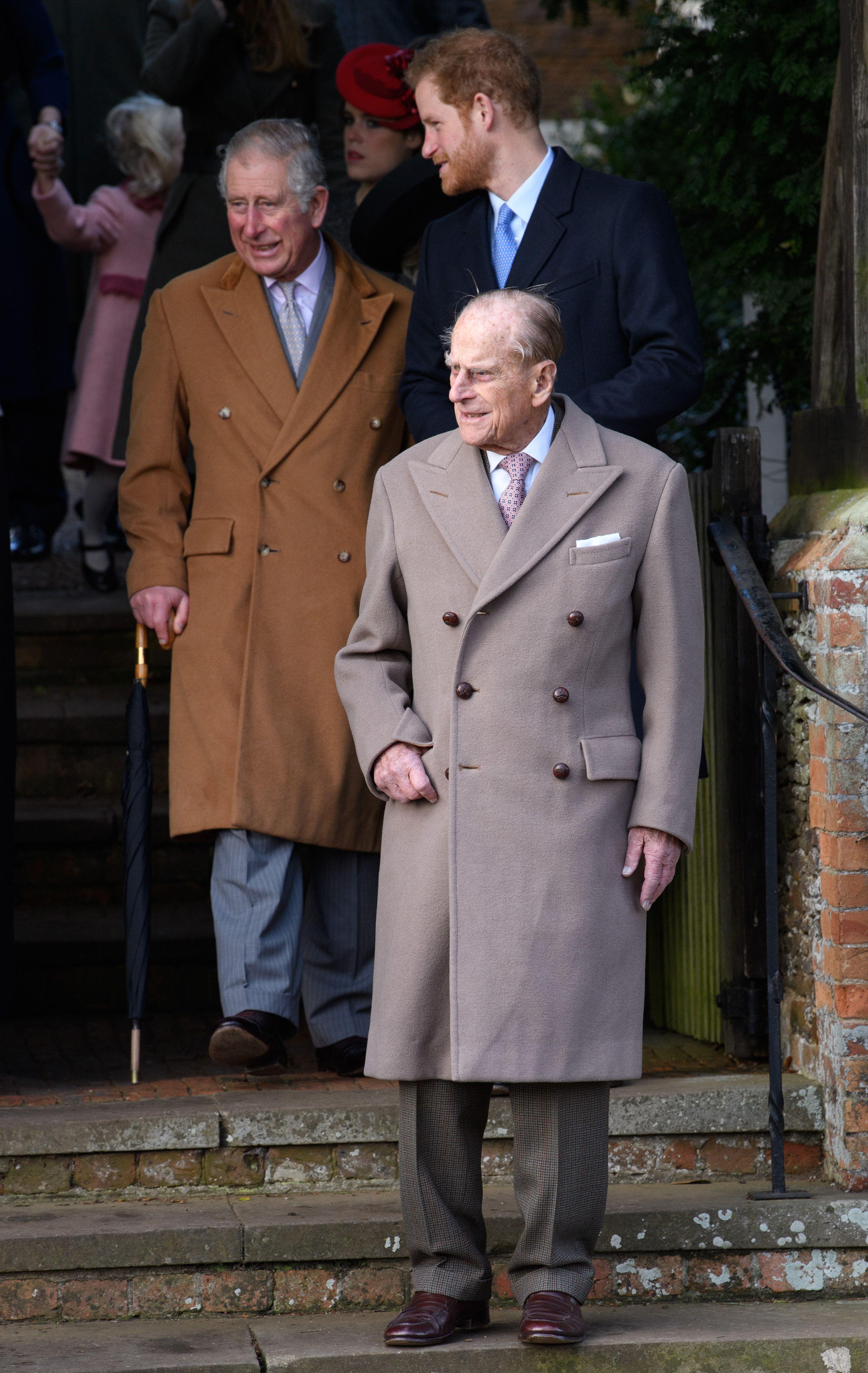 Nigelast enesetundest hoolimata oli üritust väisamas ka Kuninganna abikaasa, rõõmusui Edinburghi hertsog prints Philip