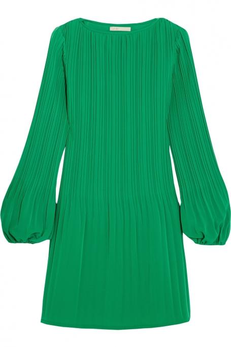 676377ea580 Pastelltoon ja laia plisseeriga alaosakihid muudavad selle kleidi tõeliselt  elegantseks ja praktiliseks. Ajatu ese, mida saab kanda aastaajast  sõltumatult.