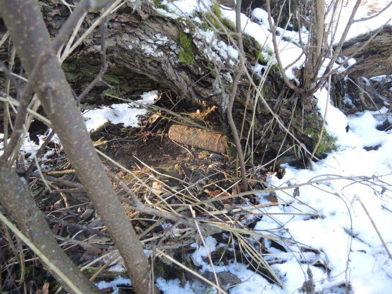 Roosna-Allikult leitud mürsk