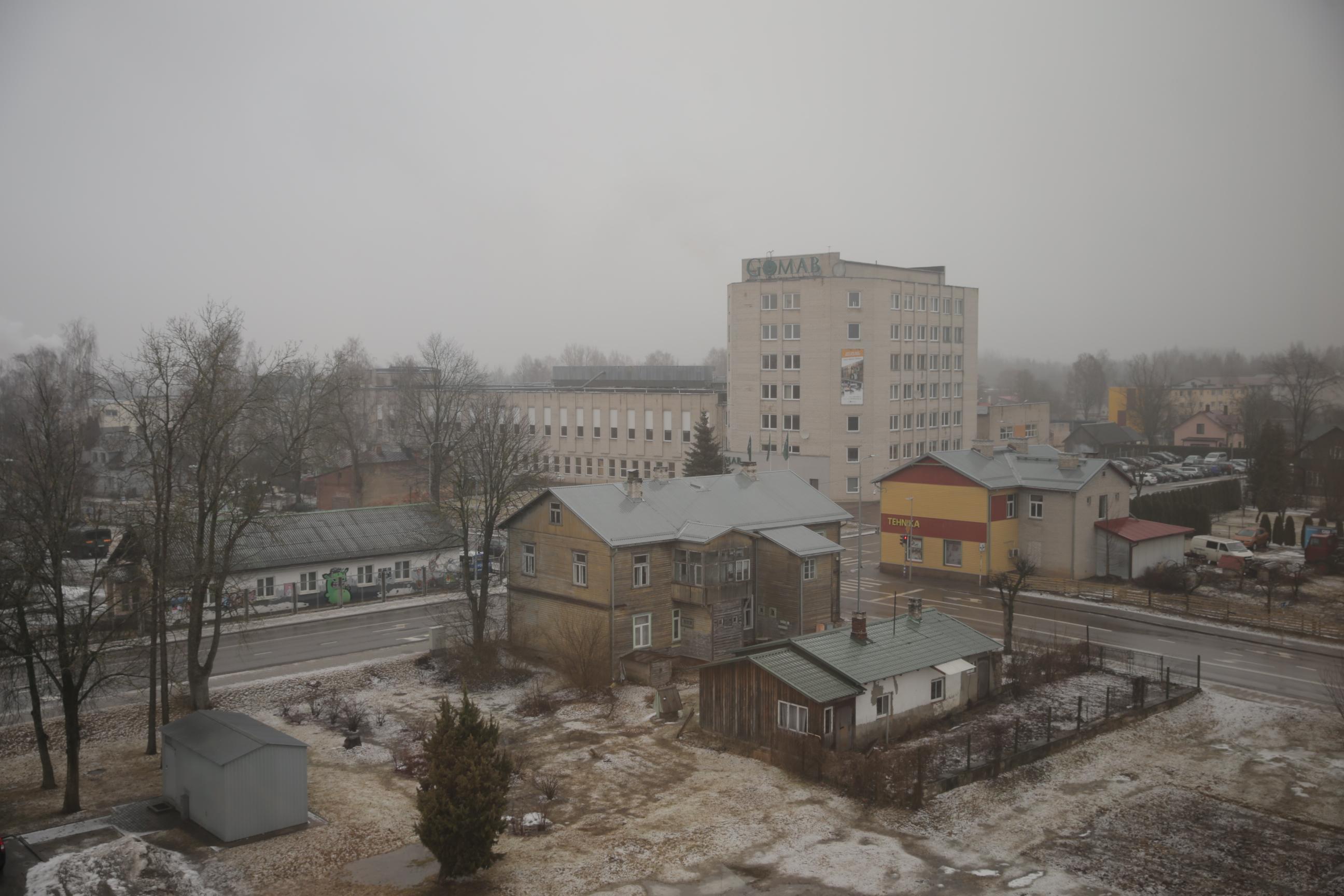 Valgasse suur lumetorm ei jõudnud