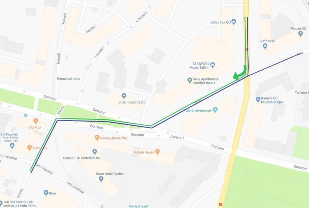9d26dffed34 ... on Pronksi piirkonnas suuremad tööd Gonsiori tänava rekonstrueerimiseks  lõpetatud, mis toob liiklejatele suurt leevendust. Seni loodame aga  liiklejate ...