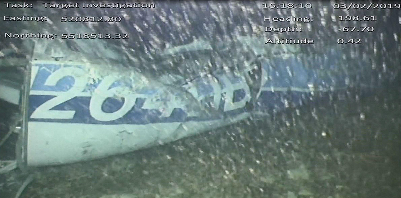 Emiliano Salad transportinud lennuki rusud Foto: HO/AFP