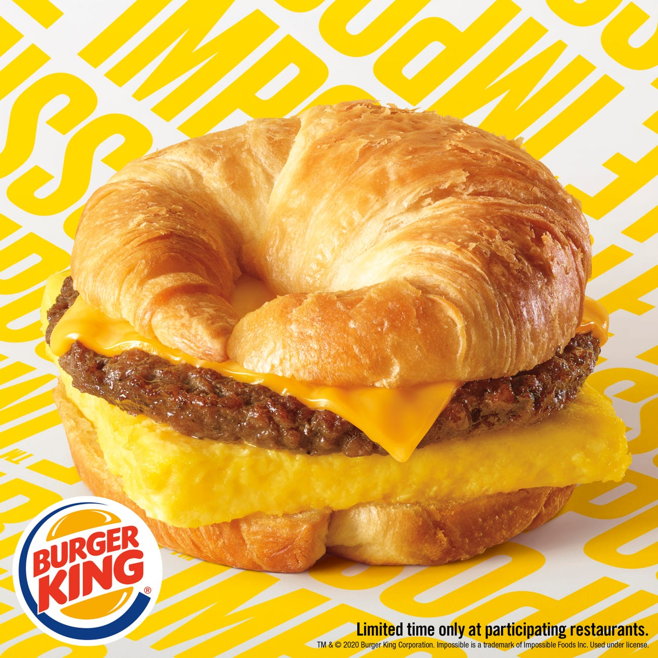 Burger King Impossible Crossain'wich