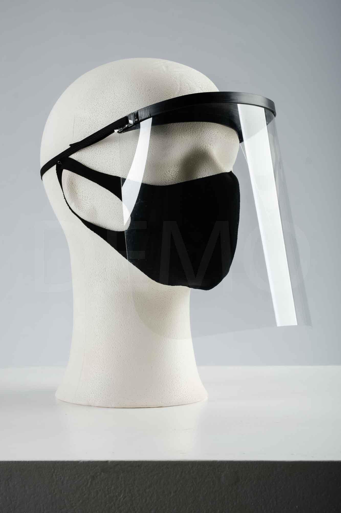 Kaitsevisiir koos maskiga