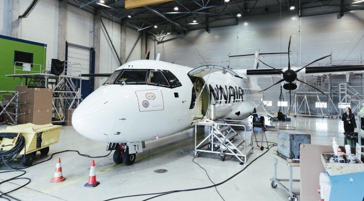 FOTOD | Magnetic MRO sai suure lennukiremondi lepingu Finnairiga. Need lennukid sõidavad nii Soome siselendudel kui ka Baltikumis