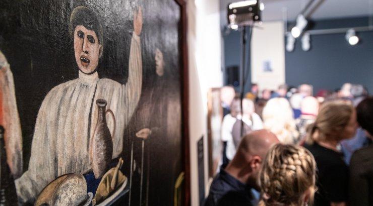 f56b3823d86 FOTOD | Mikkeli muuseumis avati Gruusia üksildase geeniuse Pirosmani  maalide näitus