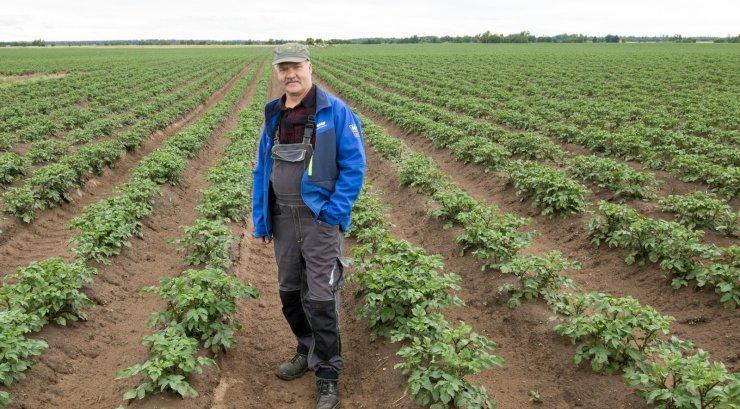 Tänavuseks rahvapõllumeheks valiti kartulikasvataja Gustav Põldmaa
