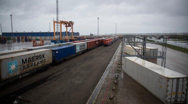 Muuga sadamas on töö häiritud