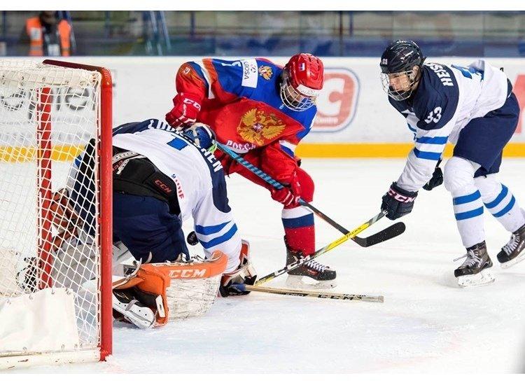 Сборная Российской Федерации проиграла Финляндии вполуфинале юниорскогоЧМ