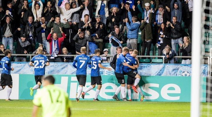 5c327697b28 FOTOD | Mattias Käidi üleminuti värav tõi Eesti koondisele Küprose vastu  magusa võidu! - Sport