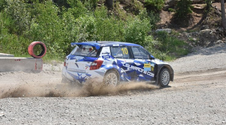 FOTOD | Ligur võttis tugevas konkurentsis rallikrossi Eesti meistrivõistlustel etapivõidu: